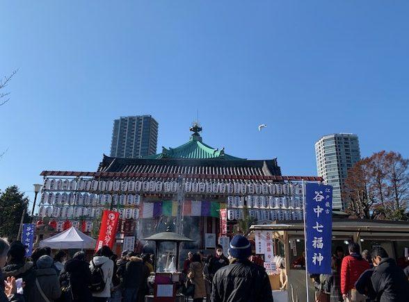 上野で初詣